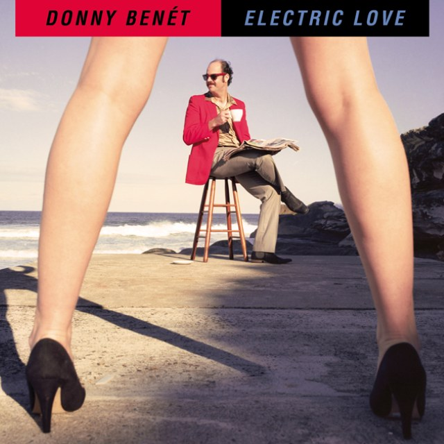 Donny Benet - Electric Love Album Cover
