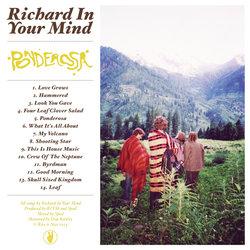 Richard In Your Mind - Ponderosa Album Artwork