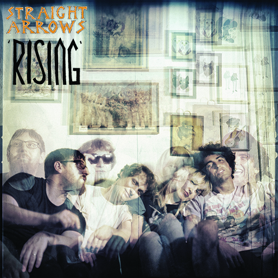 STRAIGHT ARROWS - RISING COVER