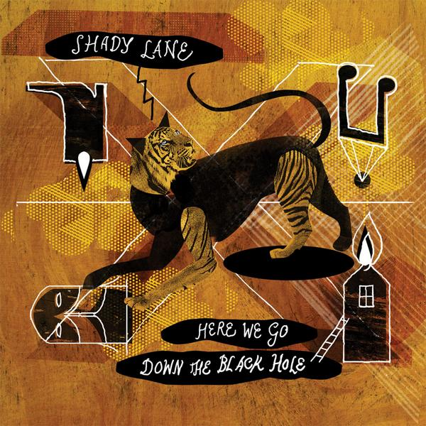 Shady Lane - Here We Go Down The Black Hole Album Artwork